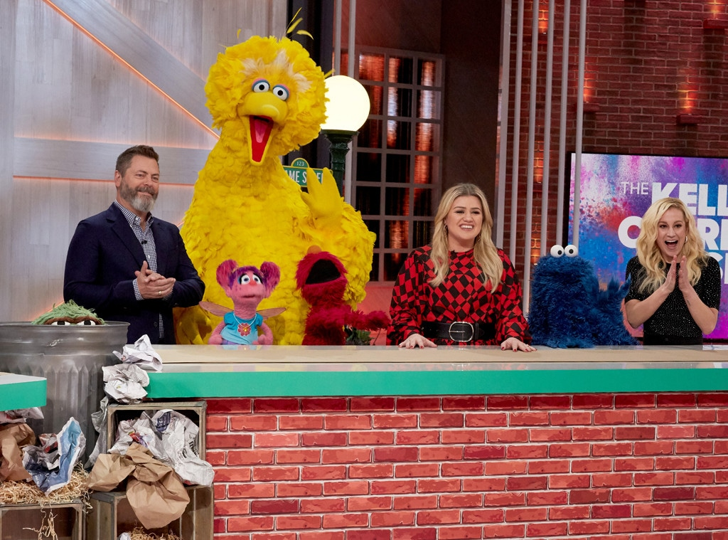 Nick Offerman, Sesame Street Cast, The Kelly Clarkson Show 2019