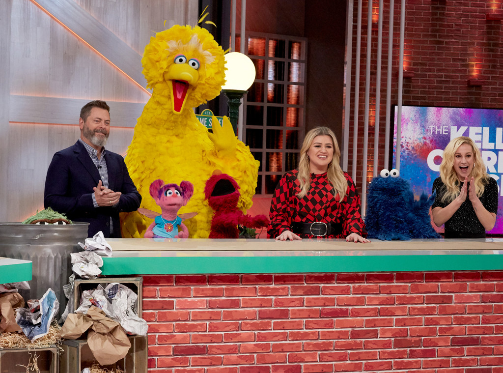 Nick Offerman, Sesame Street Cast, The Kelly Clarkson Show 2019