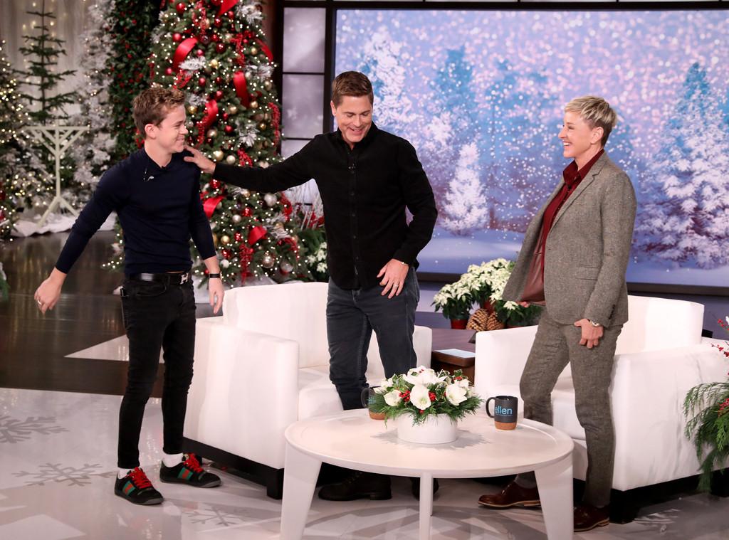 Rob Lowe, Ellen DeGeneres Show