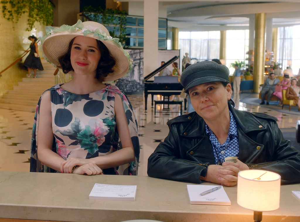 Rachel Brosnahan, Alex Borstein, The Marvelous Mrs. Maisel Season 3