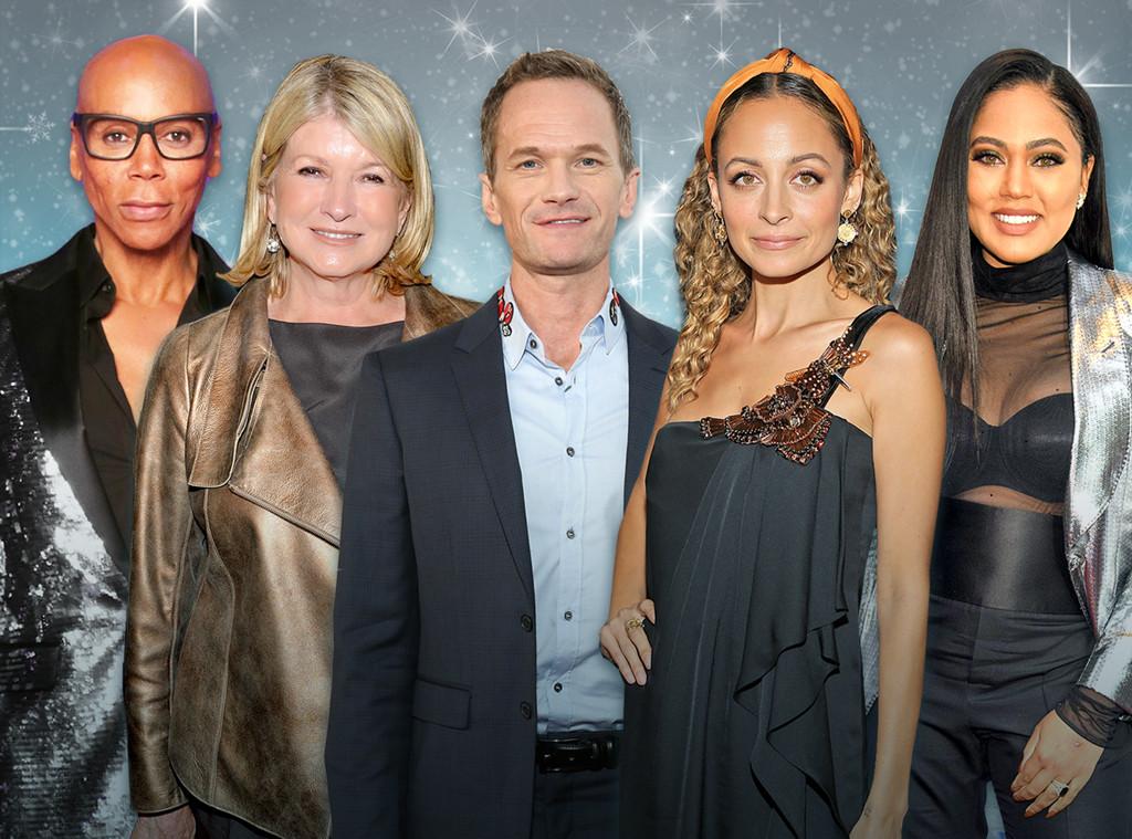 E-Comm: Holiday Gift Guide, Countdown to Christmas Push, Martha Stewart, Nicole Richie, Neil Patrick Harris, RuPaul, Ayesha Curry