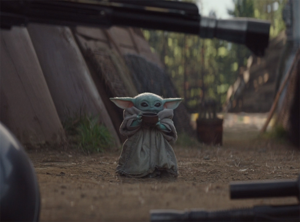 Let's Talk About Baby Yoda Sipping Soup on The Mandalorian ...