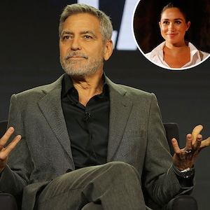 George Clooney, Meghan Markle, Inset