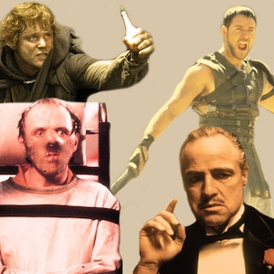 Best Picture Tournament Elite 8, Gladiator, The Godfather, Lord of the Rings: The Return of the King, Silence of the Lambs