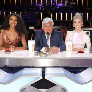 AMERICA'S GOT TALENT - Howie Mandel, Gabrielle Union, Jay Leno, Julianne Hough, Simon Cowell