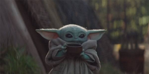 Let's Talk About Baby Yoda Sipping Soup on The Mandalorian