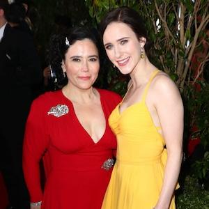 Alex Borstein, Rachel Brosnahan, 2019 Golden Globe Awards