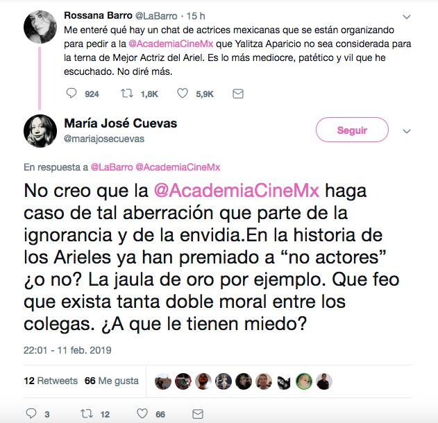 Twitter contra Yalitza Aparicio