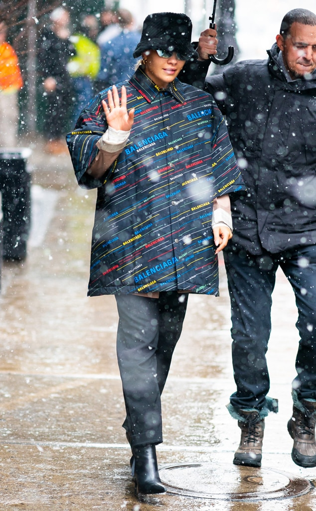 Rita Ora -  Snow scenes!