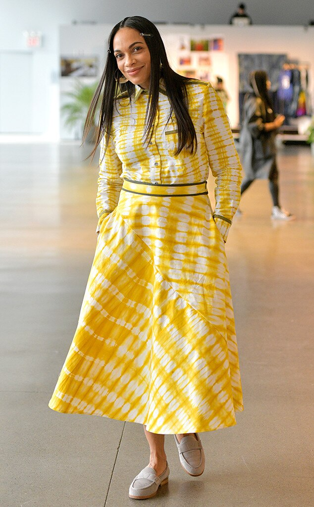 Rosario Dawson, Fashion Week Events, Studio 189