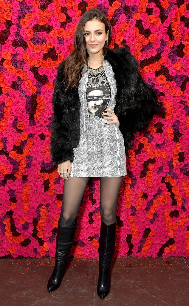 Victoria Justice -  Attended the Alice + Olivia show on Feb. 11, 2019.