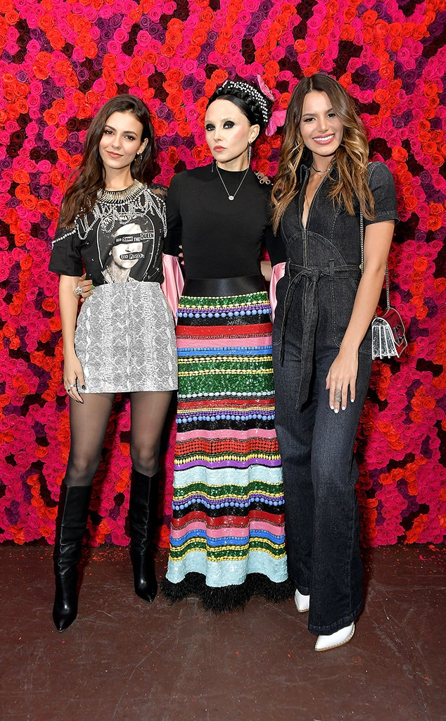 Victoria Justice, Stacey Bendet & Madison Reed -  Attended the Alice + Olivia show on Feb. 11, 2019.