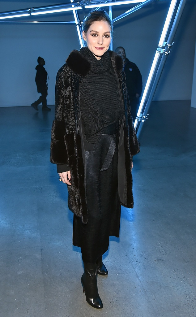 Olivia Palermo -  Attended the Sally LaPointe show on Feb. 12, 2019.