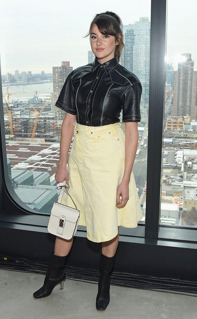 Shailene Woodley -  At the Proenza Schouler show on Feb. 11, 2019.
