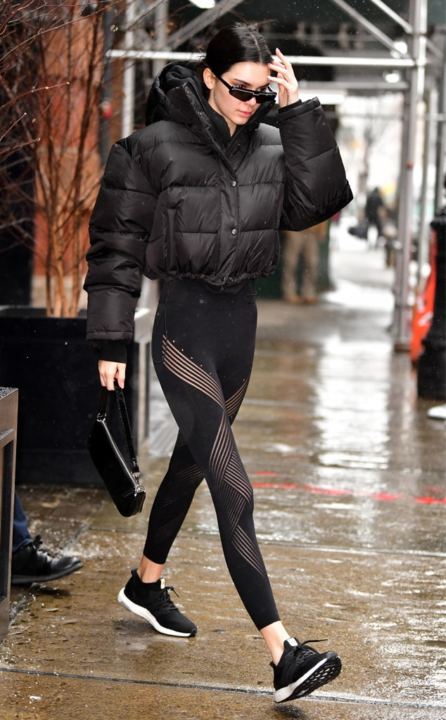 Kendall Jenner -  Athleisure lady!