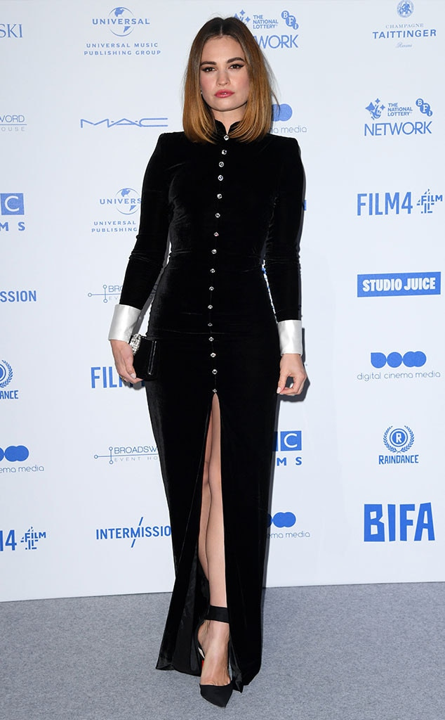 Lily James, Fashion Police Widget