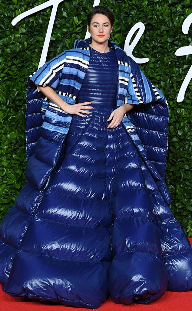 Shailene Woodley, Fashion Police Widget