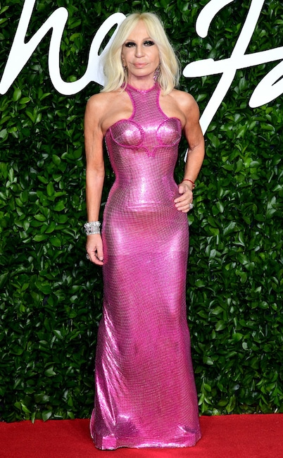 Donatella Versace, The Fashion Awards 2019