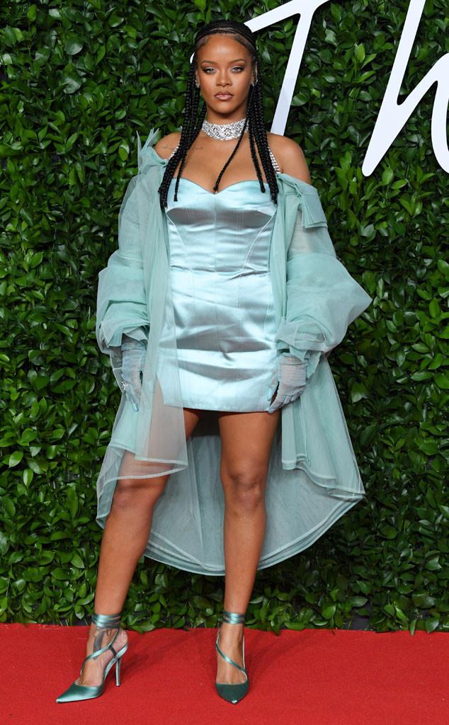 Rihanna, Fashion Police Widget, The Fashion Awards