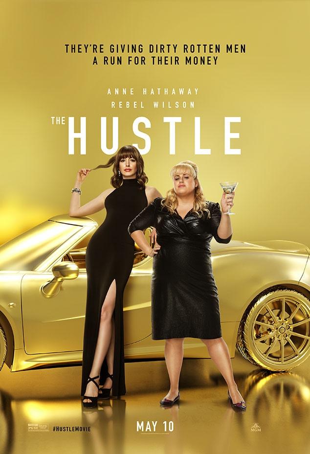 Rebel Wilson, Anne Hathaway, The Hustle, Movie Poster