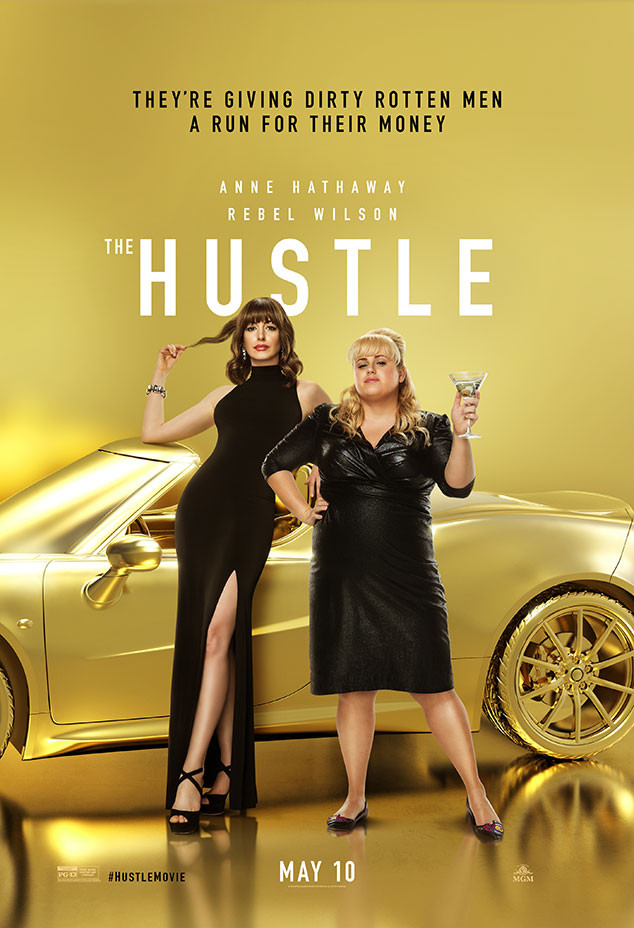 Rebel Wilson, Anne Hathaway, The Hustle, Movie Poster