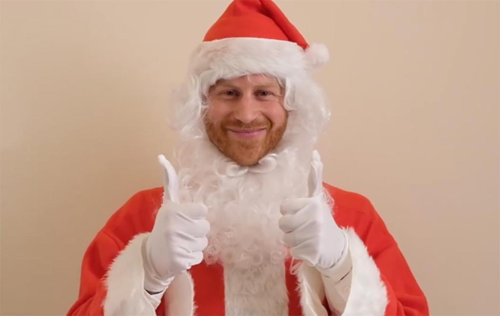 Prince Harry, Santa, Christmas 2019
