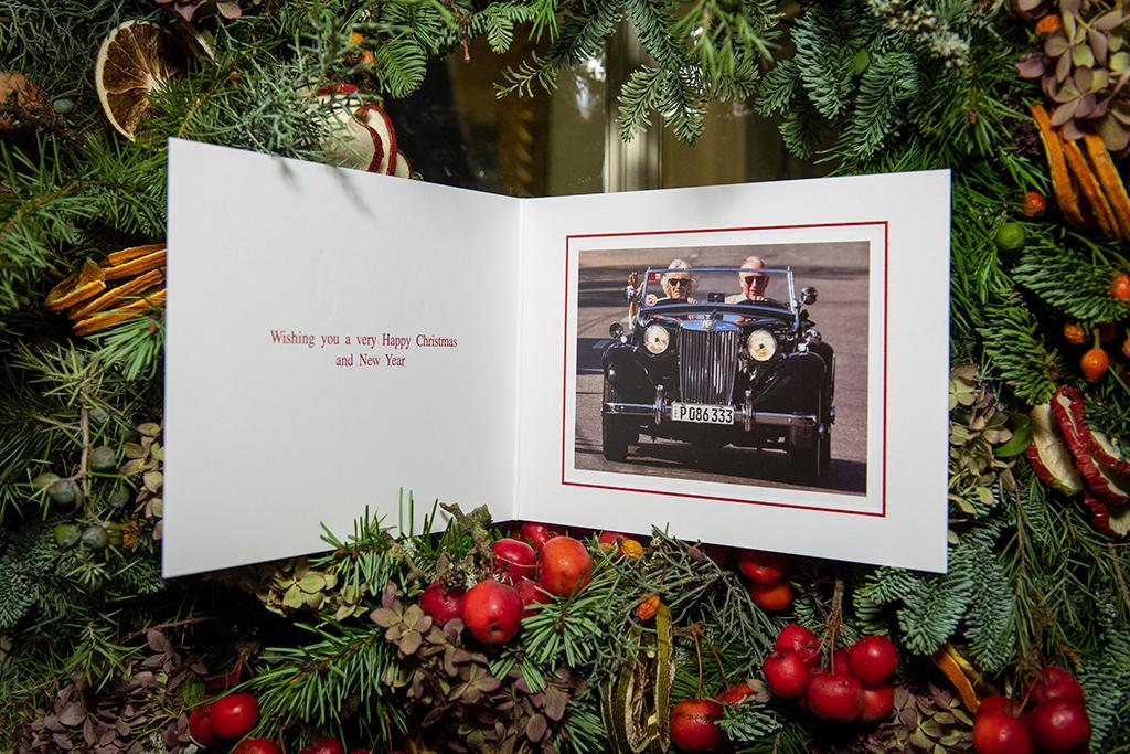 Prince Charles, Camila, Christmas Card