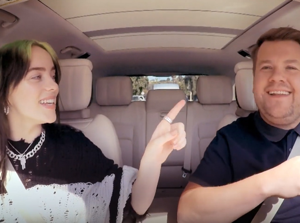 Billie Eilish, James Corden, Carpool Karaoke