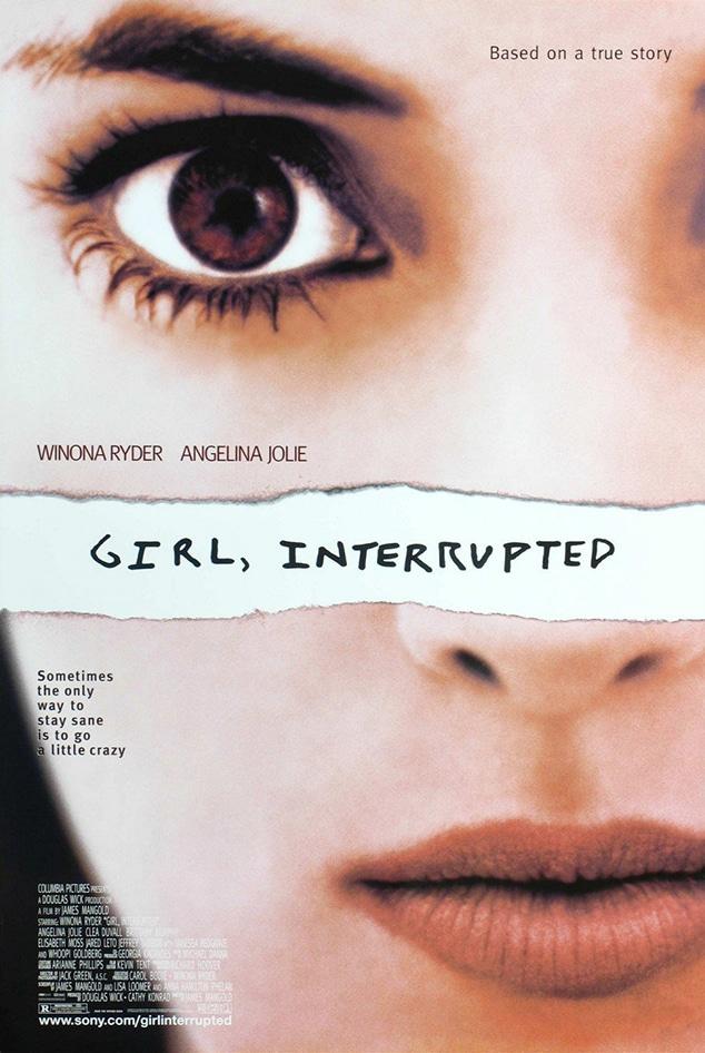 Angelina Jolie, Girl Interrupted, Girl Interrupted Movie Poster