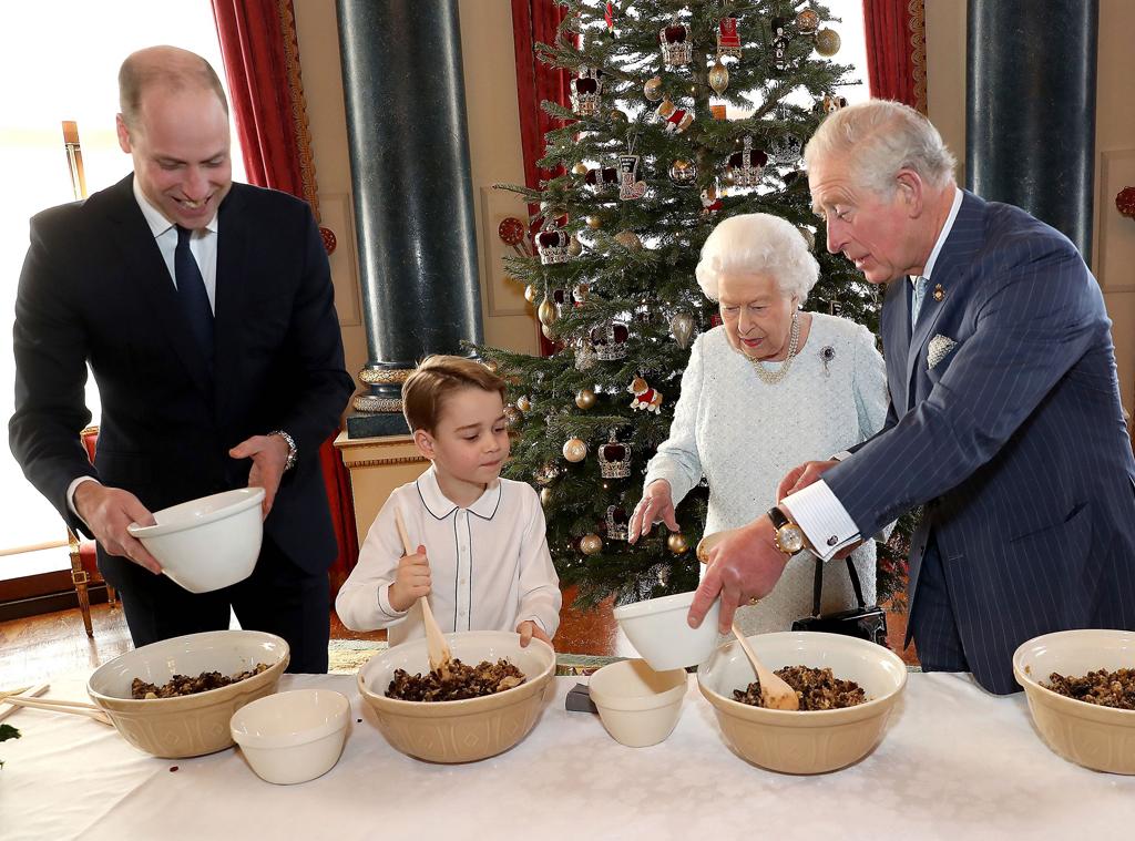 Queen Elizabeth II, Prince George, Prince William, Prince Charles, Do not use til 2pm PT