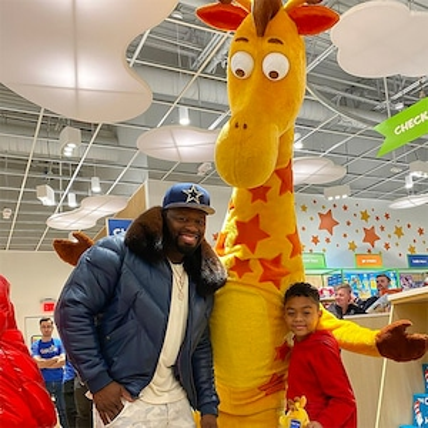 50 Cent, Son, Sire Jackson, Christmans 2019, Toys 'R' Us