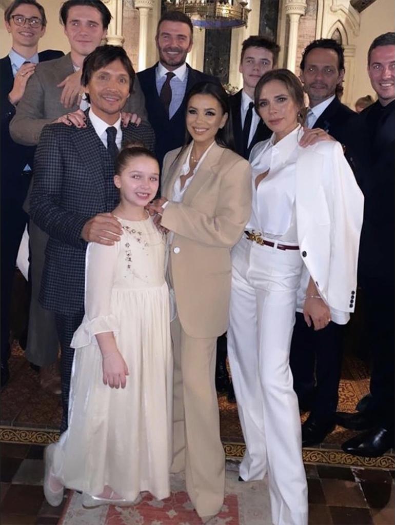 Victoria Beckham, Eva Longoria, David Beckham, Marc Anthony