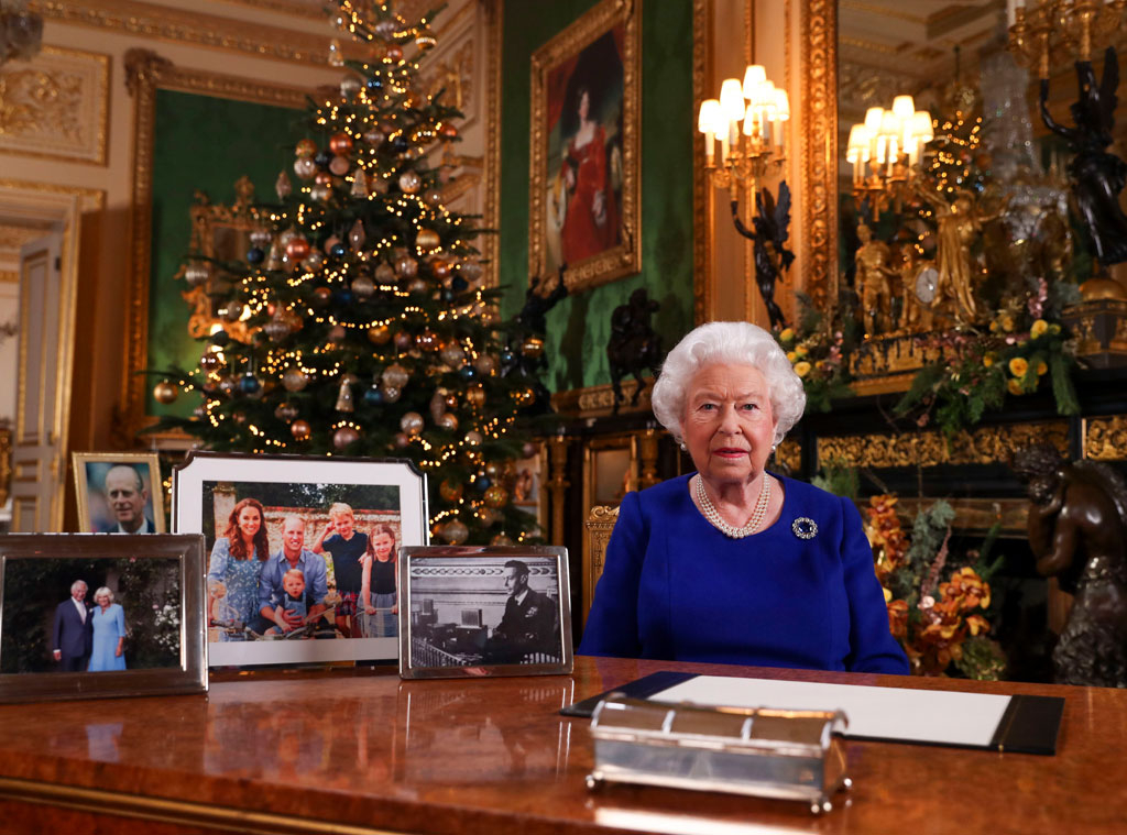 Meghan Markle Christmas 2020 Queen Elizabeth Alludes to Royal Family Turmoil in Christmas