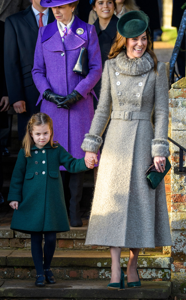 Middeltons 2020 Christmas Kate Middleton Has One Regret About Her Christmas Day Outfit   E