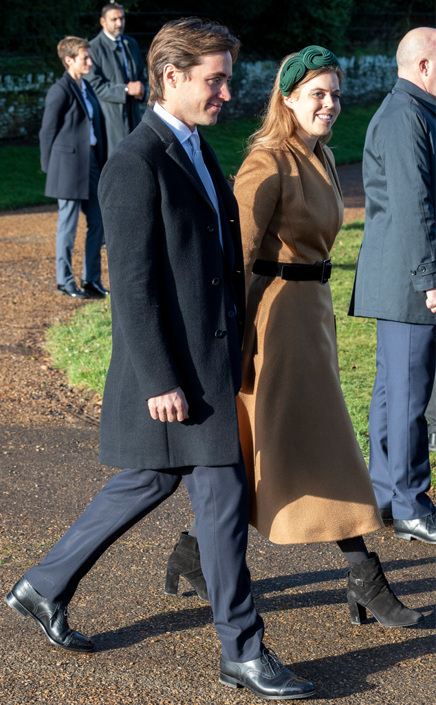 Princess Beatrice, Edoardo Mapelli Mozziconi, Christmas 2019