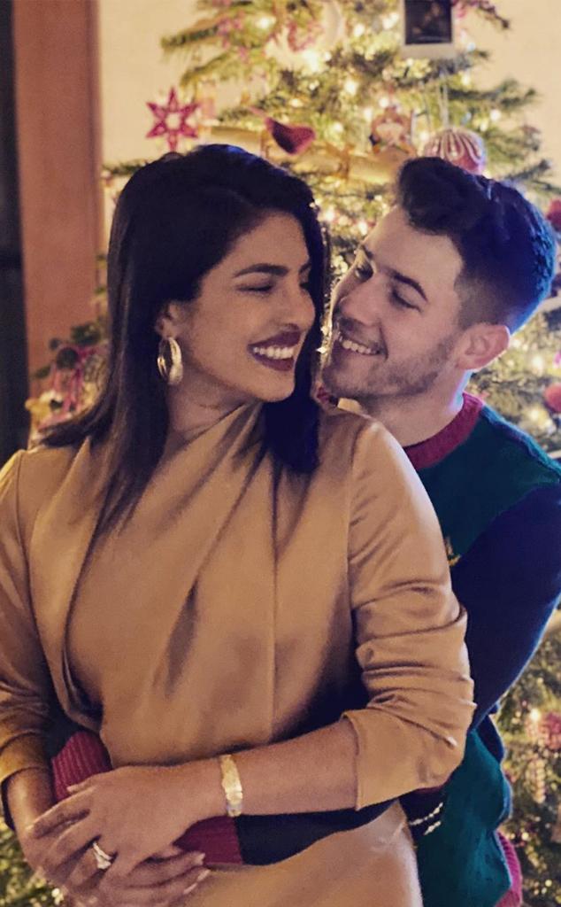 Nick Jonas, Priyanka Chopra, Christmas