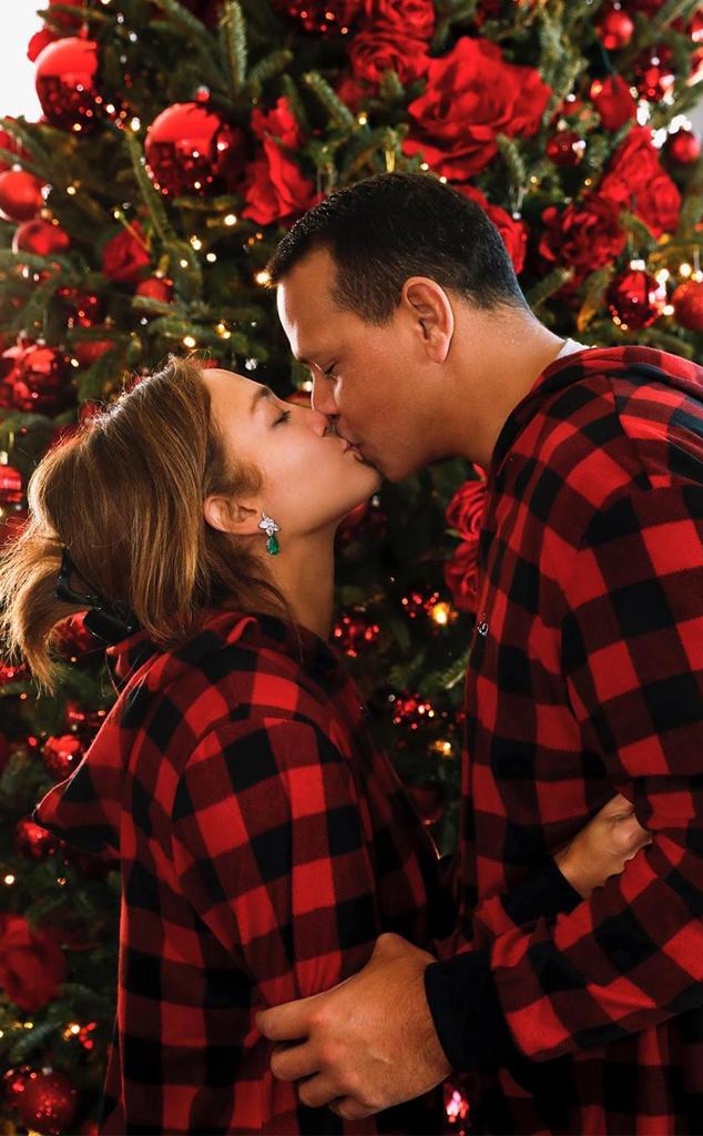Jennifer Lopez, Alex Rodriguez, Christmas