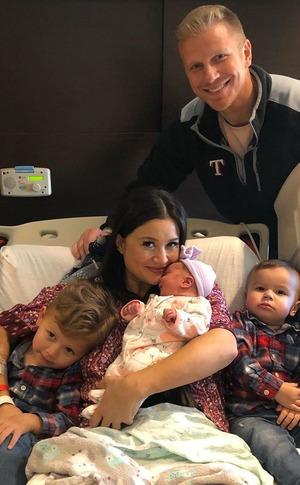 Sean Lowe, Catherine Giudici, Baby