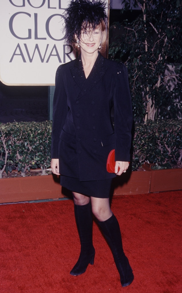 Helen Mirren, Golden Globe nominees' first red carpets