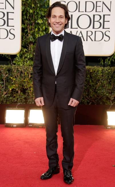 Paul Rudd, Golden Globe nominees first red carpets