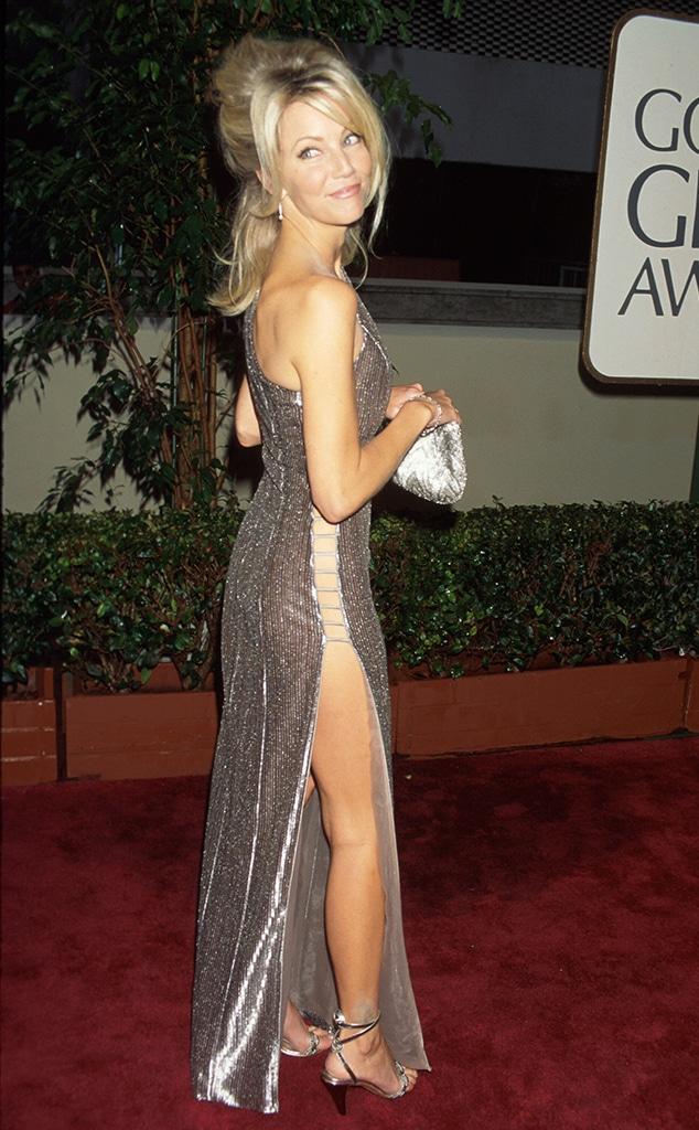 Heather Locklear, Golden Globe looks