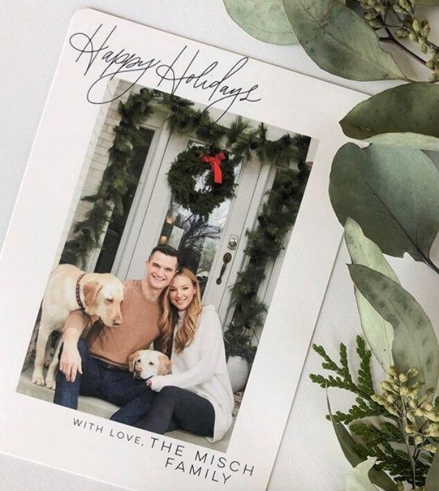 Jaclyn Misch, Jon Misch, Holiday Cards 2019