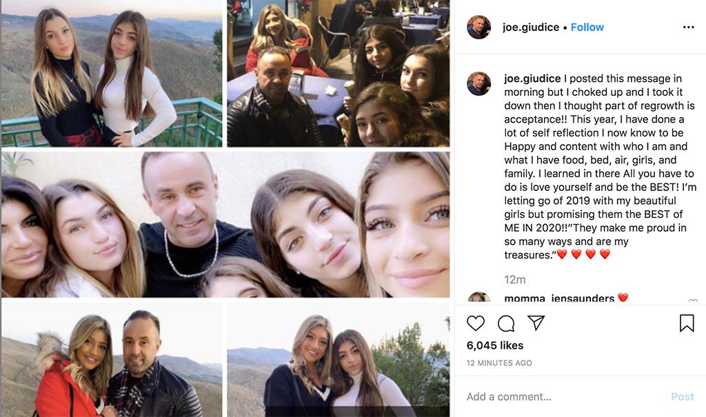 Joe Giudice, Teresa Giudice, Daughters, Gia, Milania, Gabriella, Audriana, Italy, Instagram