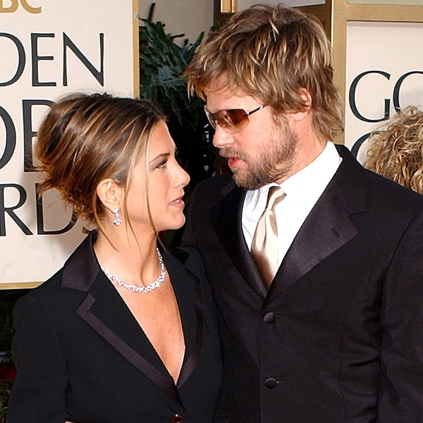 Brad Pitt leaves Jennifer Aniston chuckling during her Golden Globes 2020 speech