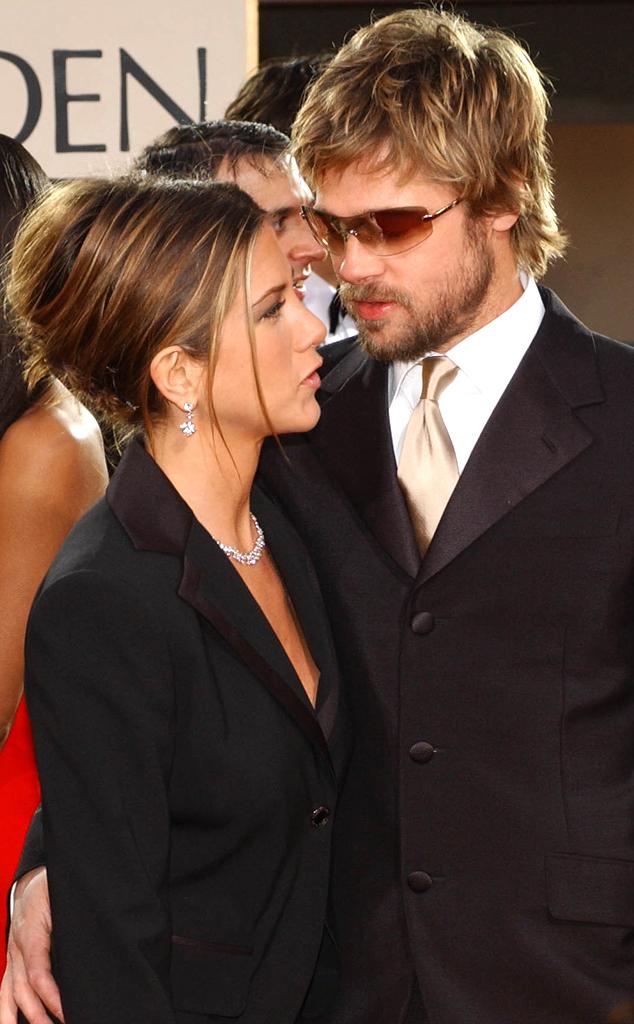 Golden Globes, Jennifer Aniston, Brad Pitt