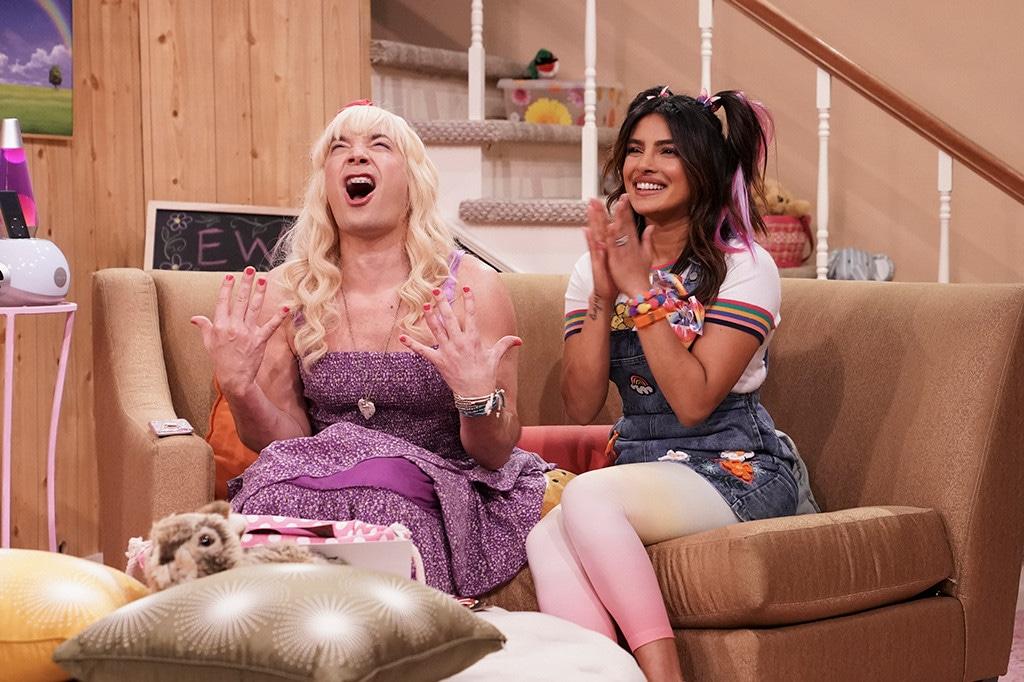 Priyanka Chopra, Jimmy Fallon, Ew, The Tonight Show