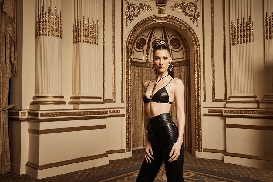 Bella Hadid Is Peak Sexy In The New Kith X Versace Campaign