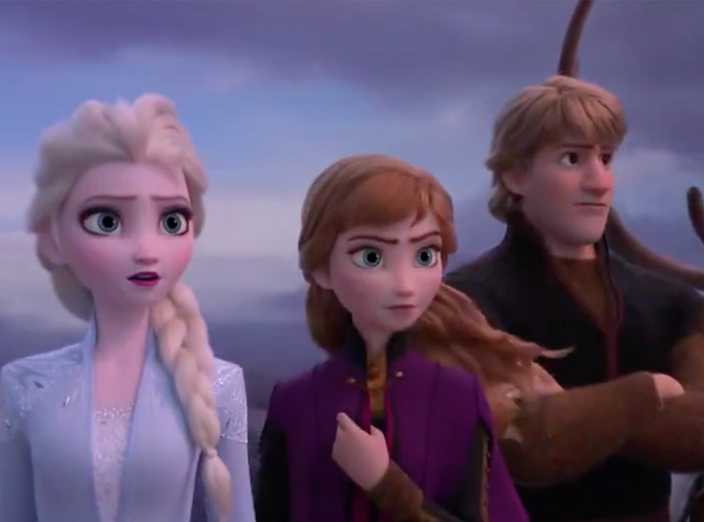 Anna, Elsa, Frozen 2