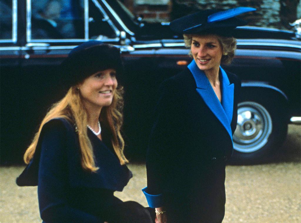 Sarah Ferguson, Princess Diana