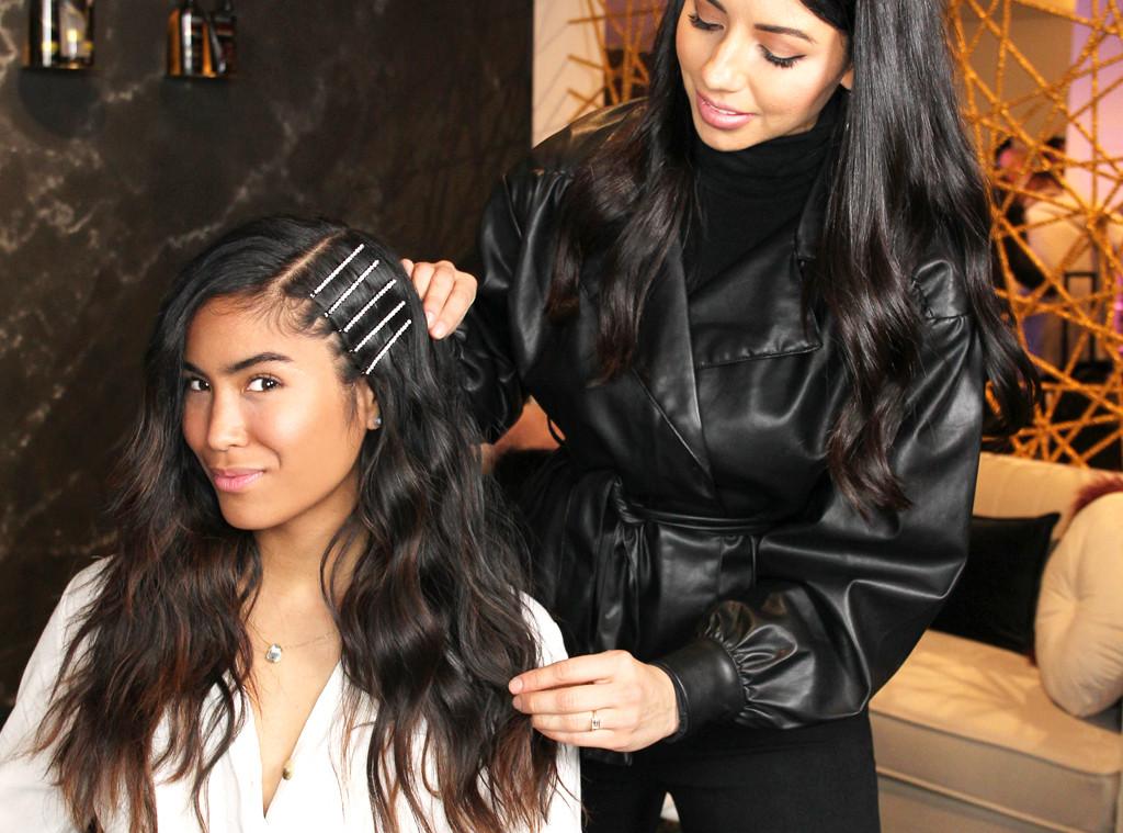 Tresemme Hair Tutorial, Spring Studios, 2019 NYFW, round 2, Step 4